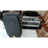 Amplicador Portatil Behringer Europort Epa 150