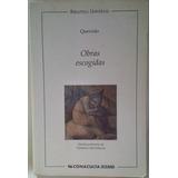 Obras Escogidas Quevedo Libro Físico