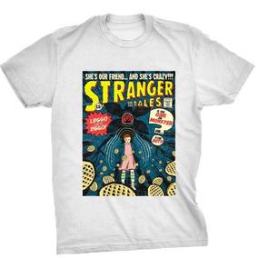 Camisetas Blusas Manga Curta Stranger Things Cr Frete Gratis
