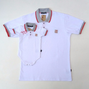 Kit Tal Pai Tal Filho Presente Para Os Pais Camiseta Polo