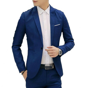 e3baaf58f1 Blazer Slim Fit 06 Moda Masculino Terno Barato - Encomenda