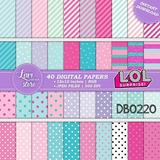 Kits Papeles Digitales Lol Surprise Fondos Version 1
