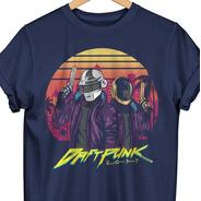 Playera Daft Punk 2077 Conmemorativa Doshik