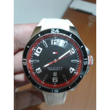 Reloj Tommy Hilfigier Deportivo Blanco 100% Original