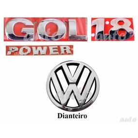 Emblemas Gol 1.8 Power + Vw Grade - G4 Geração 4