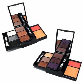 12 Kit Maquiagem Básico Luisance C/ 6 Sombras + Blush + Pó