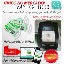 Lan House Wifi Sistema Para Gerar Tickets Wifi