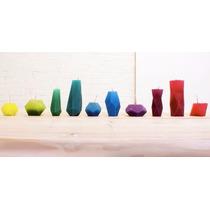 Moldes Tridimensionais Para Velas, Gelatinas E Decorações.