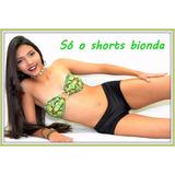 Shorts Bionda Lycra 1a R 21193b Biquínis Atacado Varejo