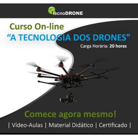 Curso Online A Tecnologia Dos Drones E Pilotagem