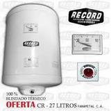 Calentador Electrico 27 Litros Record, Nuevo