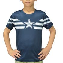 Playera Capitan America Para Niños
