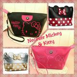 Neceser Mickey Y Kitty: Porta Maquillaje, Organizador Lindo