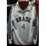 Camisa Brasil Vôlei Geração Prata (autografada Montanaro) Gg
