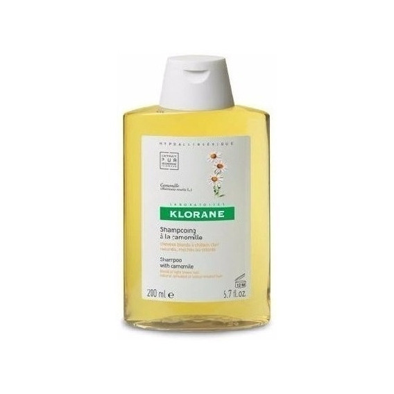 Shampoo Klorane  Reflejos Dorados Manzanilla X 200 Ml