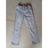 Jeans Zara Importado Talle 3/ 4 Niños Chupin