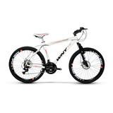 Bicicleta Aro 26 Wny Ultra Freio A Disco 24 Marchas