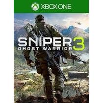 Sniper Ghost Warrior 3 - Xbox One Mídia Digital Nacional