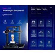 Ender 3 V2 Impressora 3d Creality Pronta Entrega Shop