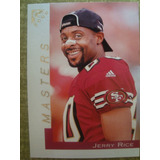 Jerry Rice San Francisco 49ers Topps Gallery Masters 2000