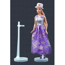 Suporte Boneca (5 Pç) Barbie, Susi, Monster High, Princesas