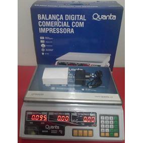 Balanca Etiquetadora Eletronica Digital 40kg Com Impressora
