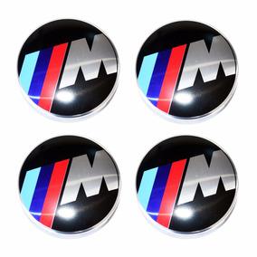Kit Acessório Emblema Calota Da Roda Bmw M Motorsport M3 M5