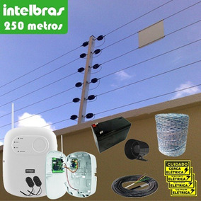 Kit Cerca Elétrica Industrial Intelbras Big Haste 250 Metros