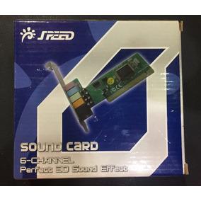 Tarjeta De Sonido Pci 6 Canales Speed