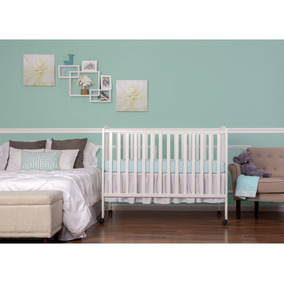 Nursery Cuna De Madera, Color Blanco