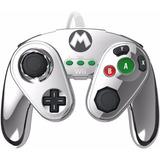 Pdp Con Cable Panel De Lucha Para Wii U Metal