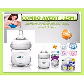 Avent Kit Recien Nacido Natural Mamadera +2 Chupetes+tetinas