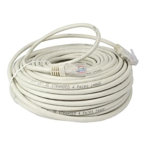 Cable De Red Utp 20 Metros Categoria 5e Patch Cord Ethernet