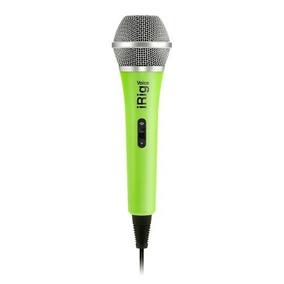 Microfono Irig Voice Ik Multimedia - Verde