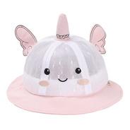 Sombrero De Verano Para Bebé Unicornio