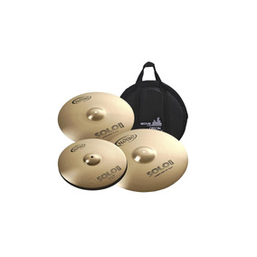 Set Kit De Pratos Orion Solo Pro 10 Sp90 14 16 20 + Bag B10