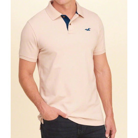 Camisa Polo Pique Hollister - Original E Importada