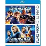 Blu-ray Fantastic Four/fantastic Four 2