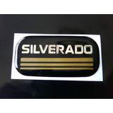 Emblema Parales Puertas Chevrolet Silverado En Relieve