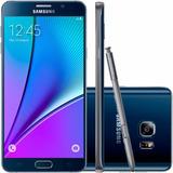 Samsung N920 Galaxy Note 5 Preto 32gb 16mp Original I Novo