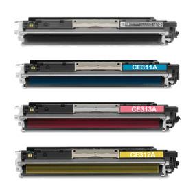 Kit 4 Cartucho De Toner Impressora Laserjet Pro Cp1025 Color