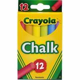 Giz Colorido Para Quadro Negro Crayola 12 Cores - No Br