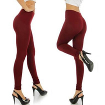 Leggins Térmicos Unitalla Color Ladrillo