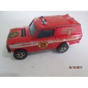 Carrinho Miniatura Majorette 246 Fire Dept, Range Rover