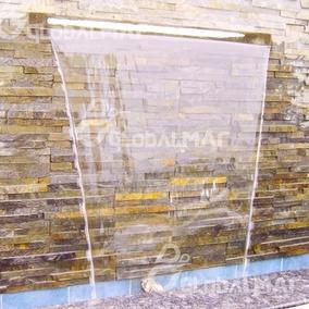 Cascata Piscina Embutir Parede Bico Inox 80cm Frete Grátis