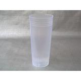 Vasos Plástico Trago Largo Pp Traslúcido (caja X 250 Unid)