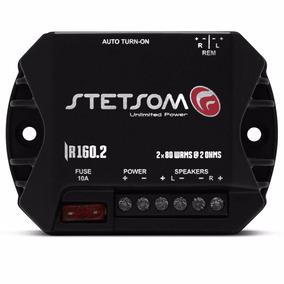 Amplificador Digital Stetsom Iron Line Iron Ir 160.2 Canais