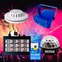 Kit Iluminação Festa Basic 4x1 Strobo Laser Disco Bola Led