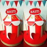 Circo- Candy- Decoración-cumpleaños-centros De Mesa-cotillon