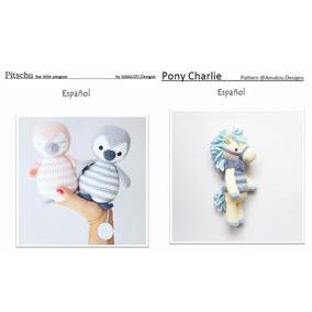 40 Patrones Amigurumi A Elección + Regalo! Crochet Esp/ing